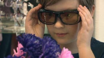 Glasses allow color blind to see the world in new light