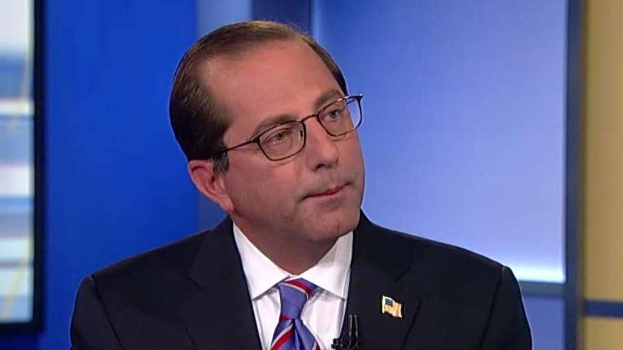 HHS secretary explains proposed changes to health insurance.