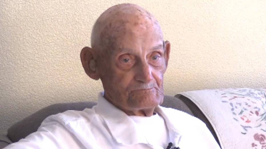 WWII veteran facing eviction over damaged home