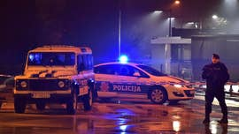 The U.S. Embassy in the Balkan state of Montenegro was attacked by a man armed with a hand grenade, who hurled the explosive at the building before blowing himself up.