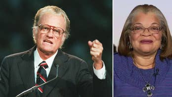 Fox News contributor Dr. Alveda King discusses Billy Graham's legacy.