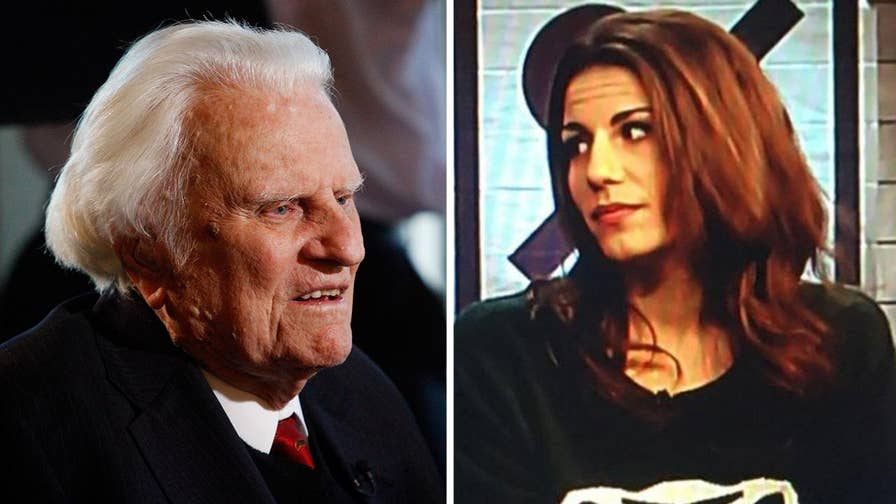 Columnist Lauren Duca mocks evangelist Billy Graham shortly after his death on Twitter. Father Jonathan Morris reacts on 'Fox & Friends.'
