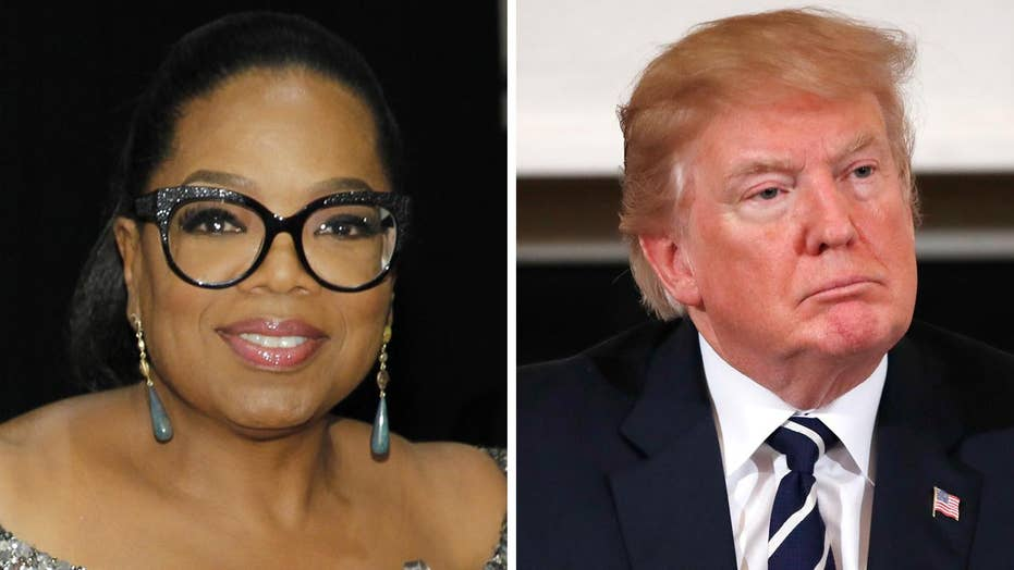Oprah responds to Trump's 'insecure' comment