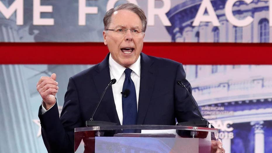 NRA's Wayne LaPierre defends Second Amendment at CPAC