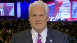Former Republican National Committee Chairman Mike Steele on Saturday challenged CPAC organizer Matt Schlapp over a group spokesman's suggestion that Steele was appointed to lead the RNC only because he is black and about Schlapp's response to the comment.