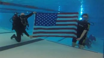Program teaches veterans and first responders the basic concepts of how to breathe compressed air underwater, then builds the students up to relaxation and motor skill techniques.
