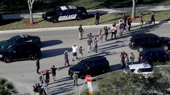 Disbelief and disappointment after the revelation that Marjory Stoneman Douglas High School's armed resource officer ran to the freshman building, but never entered; Phil Keating reports from Parkland.