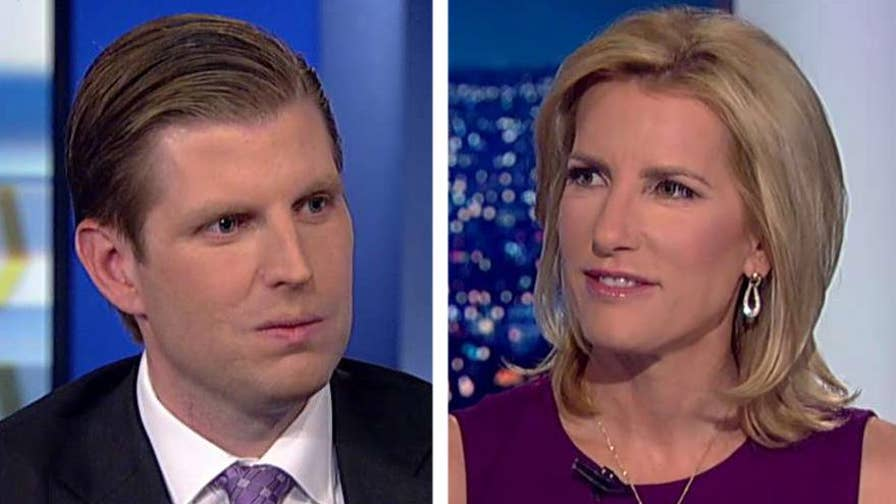President Trump listened to students, teachers and parents on gun reforms and school security; Eric Trump discusses his father's actions and Donald Trump Jr.'s business in India on 'The Ingraham Angle.'