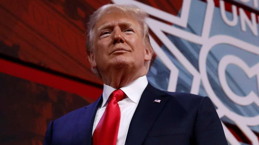 President Trump urges CPAC attendees to keep up their enthusiasm for 2018 elections, warns Democrats will repeal tax cuts, appoint liberal judges and take away Second Amendment rights.