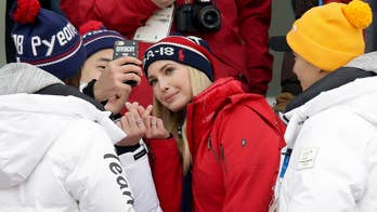Ivanka Trump cheers on U.S. athletes and meets with South Korean officials; Greg Palkot reports on how U.S. officials are addressing tensions with North Korea.