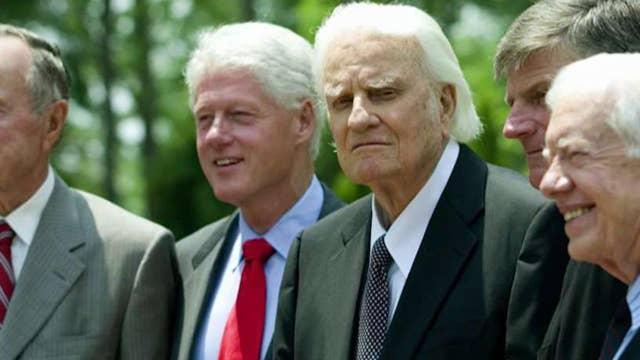 Historian: Billy Graham had major impact on Bill Clinton