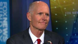 Florida GOP Gov. Rick Scott on Sunday touted his multi-million dollar plan to fortify schools and limit gun sales in the aftermath of a mass-shooting in his state, in a plan that breaks with President Trump and the National Rifle Association.