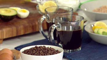 Study claims alcohol and coffee in moderation can boost longevity; lifestyle expert Ashton Keefe reacts to the research and shares recipes.