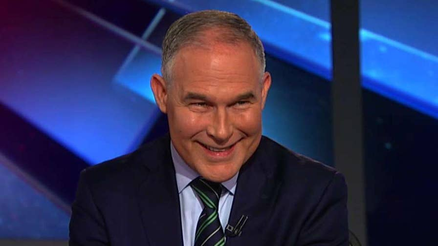 Trump declared at CPAC that the war on coal is over; EPA administrator Scott Pruitt provides insight in a 'Justice with Judge Jeanine' exclusive.