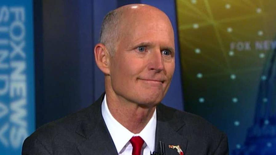 Florida governor wants to raise the age limit for buying guns, prevent mentally ill people from getting access to weapons and outlaw bump stocks.