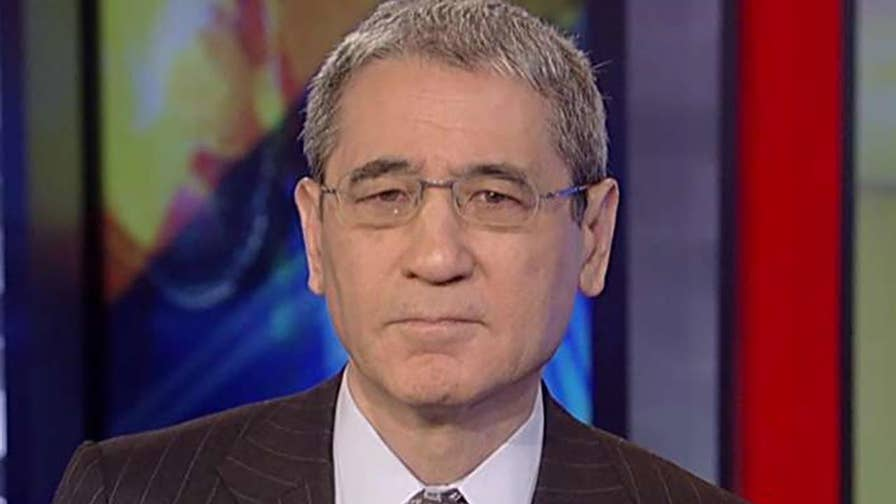 The Trump administration hit North Korea with new sanctions; 'Nuclear Showdown' author Gordon Chang provides insight on 'Sunday Morning Futures' about North Korea policy.