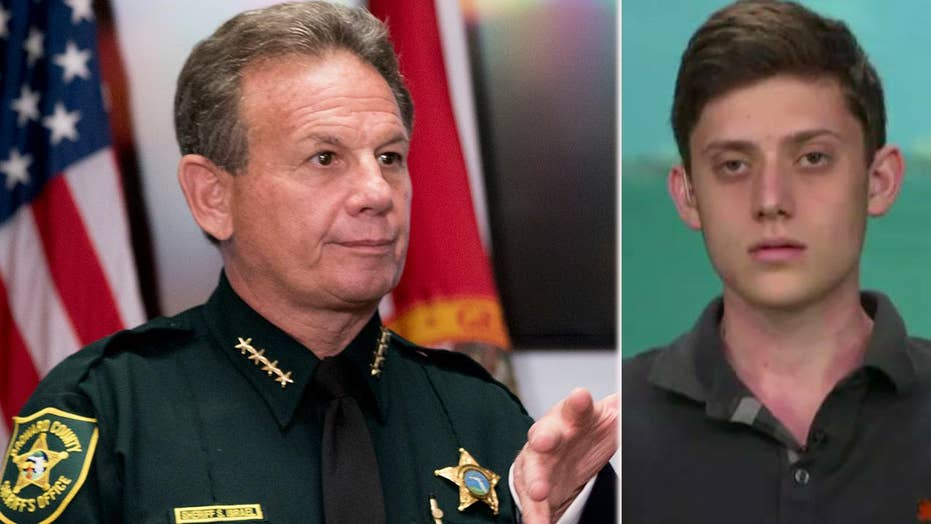 Parkland shooting survivor calls on Sheriff Israel to resign