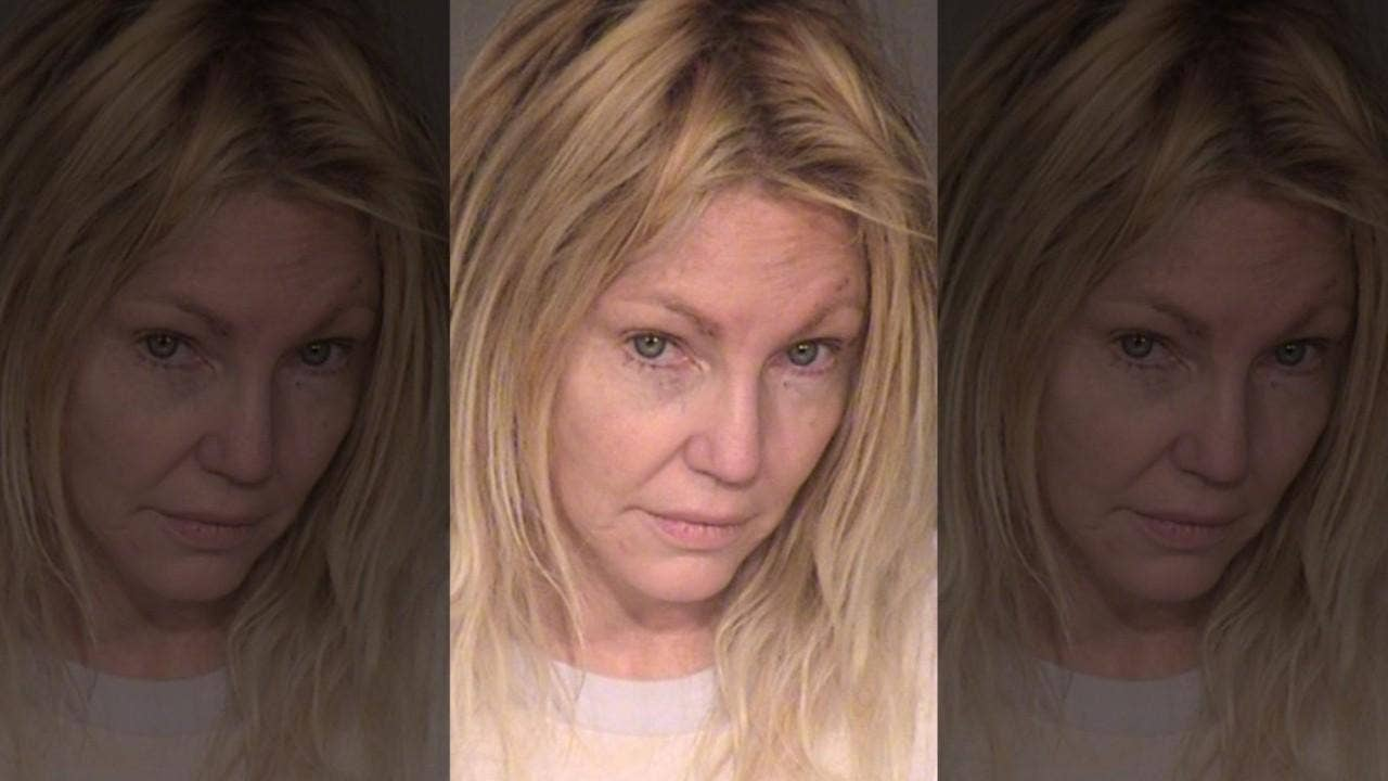 Heather Locklear Arrested For Domestic Violence Attacking A Police