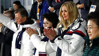 Ivanka Trump avoids interaction with senior North Korean official at Olympic closing ceremony in Pyeongchang. Greg Palkot reports.