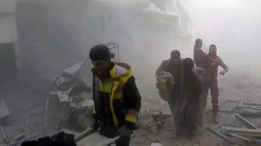 Brian McKeon: Neither the Syrian regime nor Russia care about civilian casualties.