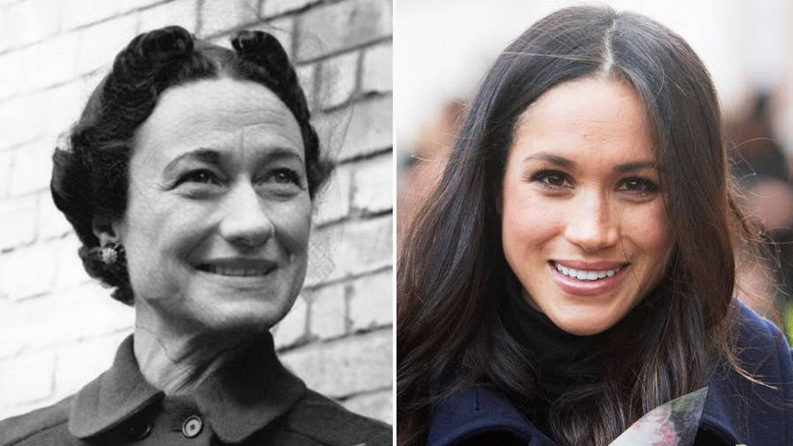 Meghan Markle won't be the first American divorcee to marry into the House of Windsor. Before the 'Suits' actress became engaged to England's Prince Harry, Edward VIII abdicated the English throne in 1936 to marry twice-divorced American socialite Wallis Simpson. Princess Diana's biographer explains what Markle can learn from Wallis.