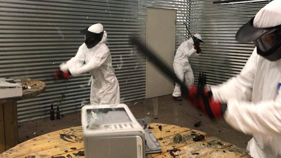 Vegas 'Wreck Room' lets you smash things into smithereens