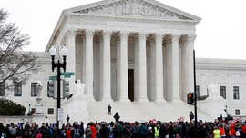 A double header of hot-button issues played out at the Supreme Court on Tuesday, with abortion-related services the even hotter backdrop.