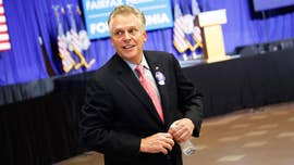 Former Virginia Gov. Terry McAuliffe said in Iowa Tuesday he's not ruling out a 2020 Democratic campaign for president, as he took his national campaign to promote Democratic candidates for governor to the early presidential testing ground.