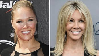 Hollywood Nation: Heather Locklear arrested for domestic violence over the weekend; Ronda Rousey joins World Wrestling Entertainment.