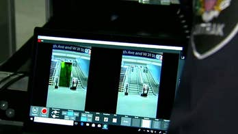 Technology sends scanning waves toward people instead of making them walk through a scanner.