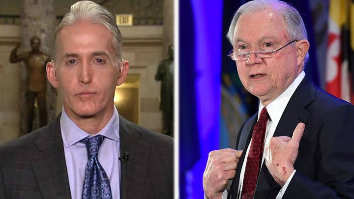 Gowdy on Sessions's probe into FISA abuses, immigration