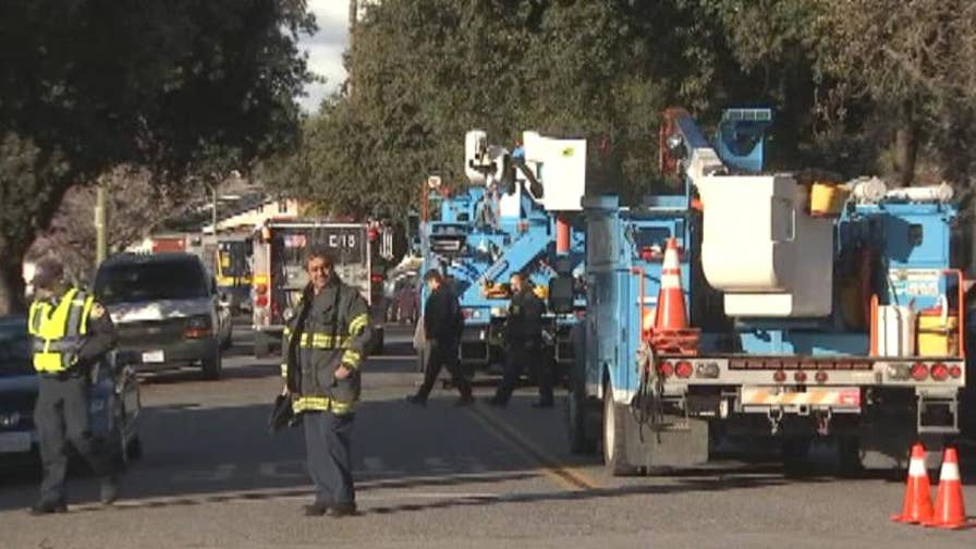 Pablo Gonzalez was trimming an oak tree when a limb hit a 12-thousand volt transmission line, likely killing him instantly.