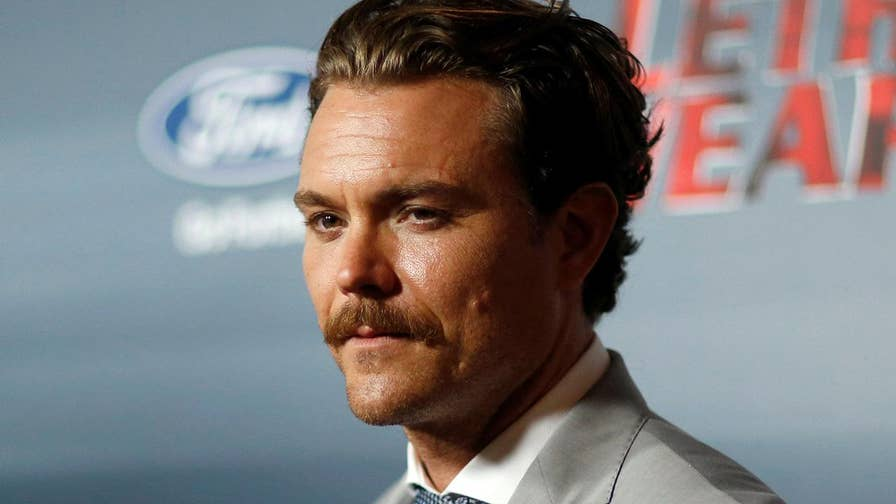 'Lethal Weapon' star Clayne Crawford opens up on starting his own foundation and what his home life is like on the farm in Alabama.