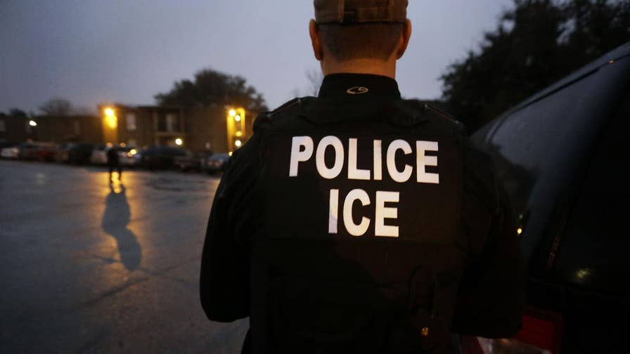Head of ICE's enforcement and removal blasts Mayor Libby Schaaf's decision to announce raids; Claudia Cowan rides along with federal immigration agents trying to enforce the law.