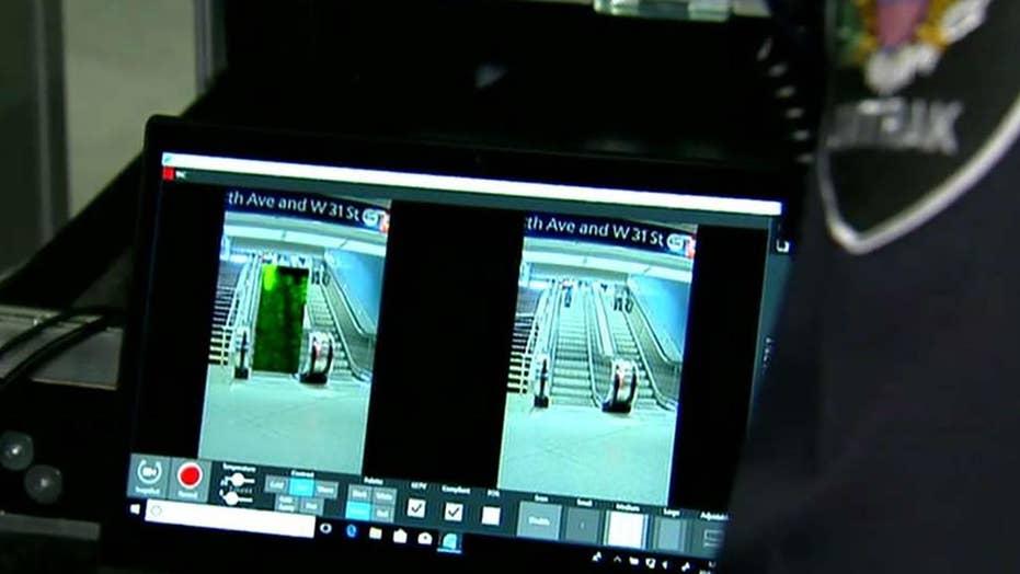 TSA testing equipment to detect suicide vests