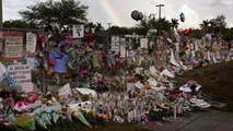Phil Keating reports on the emotional day in Parkland.