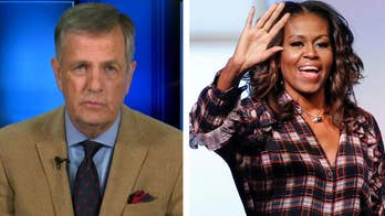 Fox News senior political analyst Brit Hume on former President Obama claiming he had a scandal-free administration and Fox News' Juan Williams that Oprah, Michelle Obama and Sen. Kamala Harris could beat Trump in 2020. #Tucker
