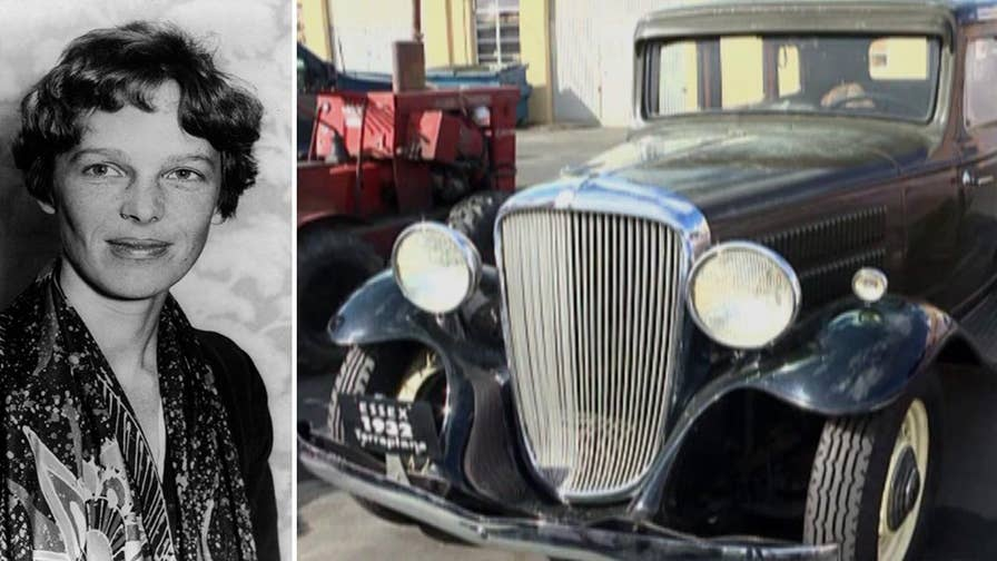 Amelia Earhart's 1932 Hudson Essex Terraplane found in California.