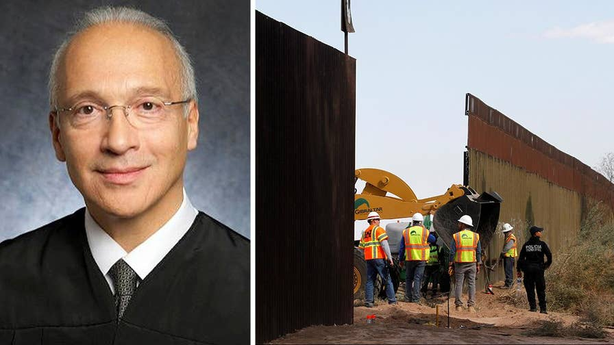 Judge Curiel: Trump administration can waive environmental regulations to build border wall.