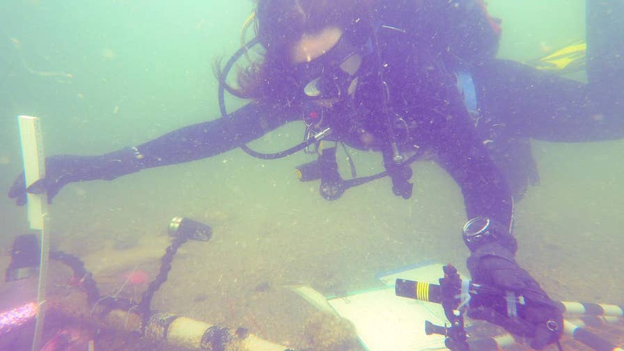 A Native American burial spot has been found underwater off the Florida coast. Researchers say it's been there for 7,000 years.
