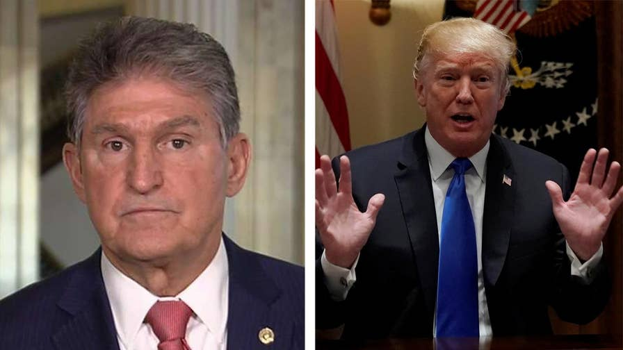 Trump met with Democrats and Republicans about solutions for preventing mass shootings; Senator Joe Manchin says on 'Your World' that Trump supports common sense back ground check changes.