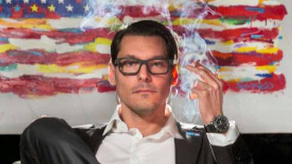Congressional candidate smokes pot in new ad