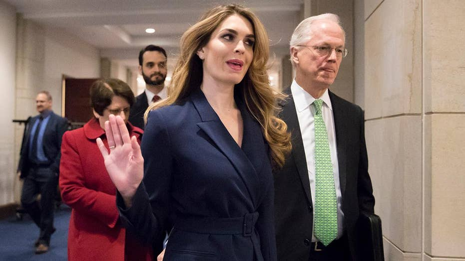 Hope Hicks to resign: President Trump losing trusted adviser