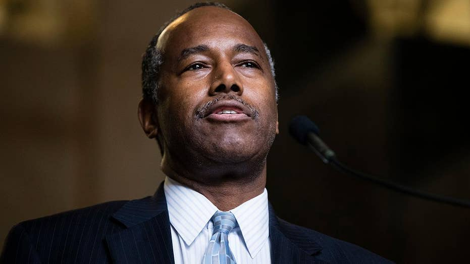 HUD Secretary Carson under pressure for decor spending