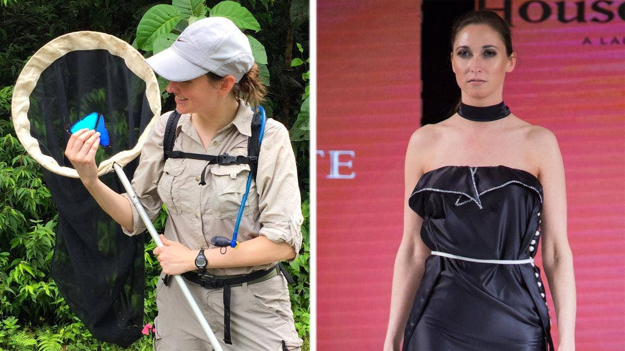 Model scientist Susan Finkbeiner, PhD, struts London catwalk one day, chases butterflies the next