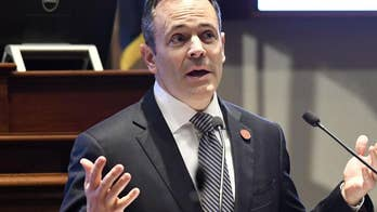 For Kentucky Gov. Matt Bevin stopping mass shootings goes beyond gun control to the actual fabric of American culture; Douglas McKelway reports.