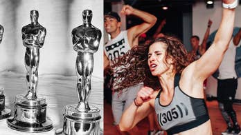Oscars workout: Thanks to 305 Fitness creator and founder Sadie Kurzban, this year's Oscars will be anything but boring. She delivers an engaging game and demonstrates each move.