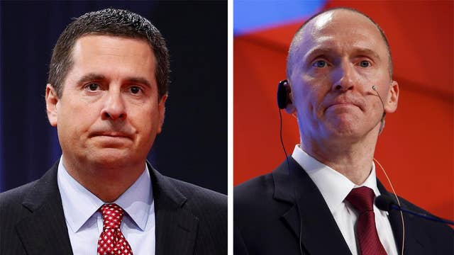 Nunes says FISA warrant on Carter Page is violation of rules