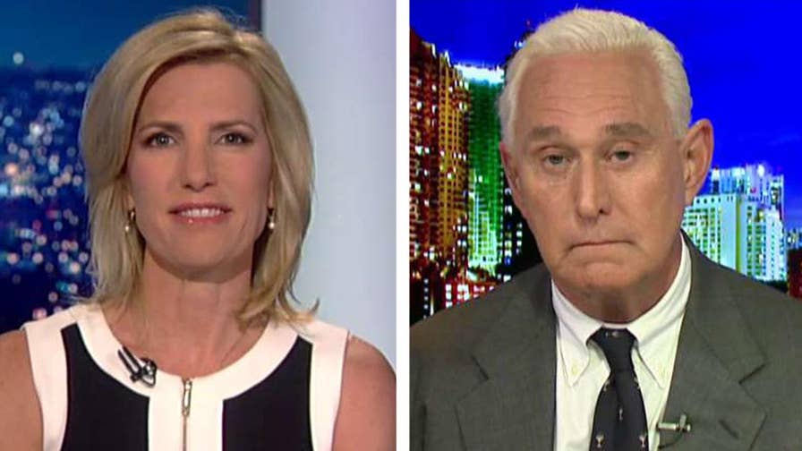 Strategist Roger Stone responds to Atlantic's report about his relationship with WikiLeaks and discusses the Russia investigation on 'The Ingraham Angle.'