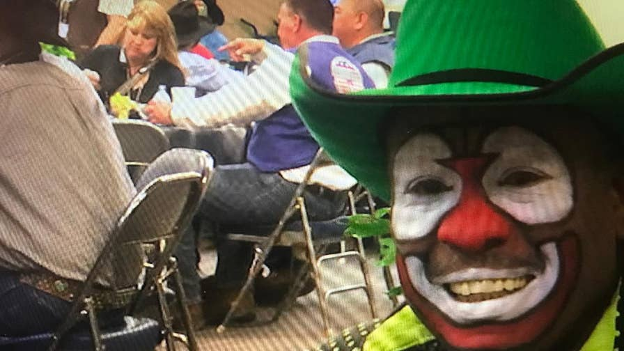 A rodeo clown talks about the ups and downs of his profession.